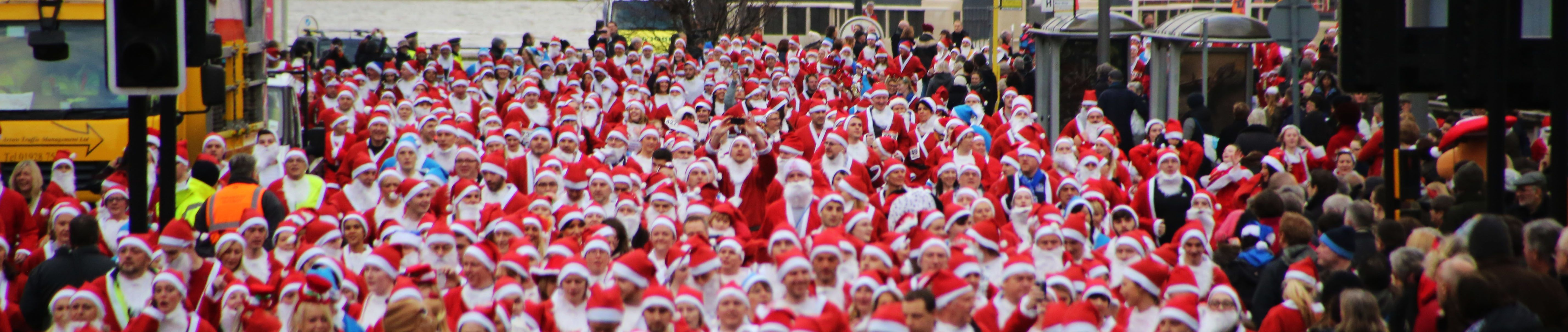 Liverpool Santa Dash - Sunday 2nd December 2018, 09.30 start at the Pier Head