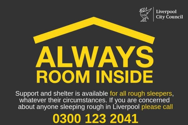 Always Room Inside - Liverpool Homeless Football Club supporting rough sleepers in Liverpool
